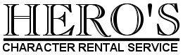 Hero's Character Rental Service