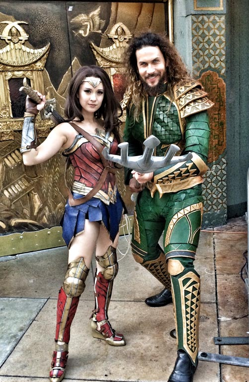 wonder woman and aquaman are two members of the justice league
